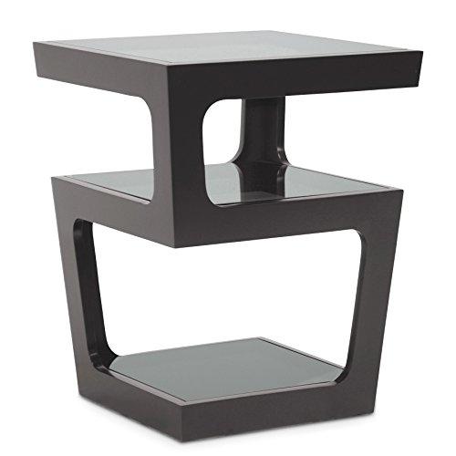 Amazon Com Baxton Studio Clara Modern End Table With 3