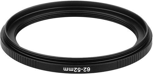3 Pack Sensei PRO 62mm Lens to 52mm Filter Aluminum Step-Down Ring