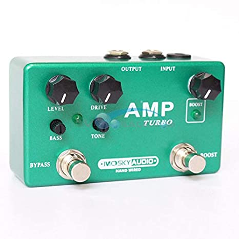 Amp Turbo - Pedal de efectos multiefectos para guitarra ...
