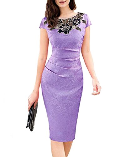 U8Vision - Vestido - Noche - para Mujer Morado