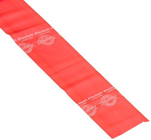 TheraBand Professional Non-Latex Resistance Band, Thin Red