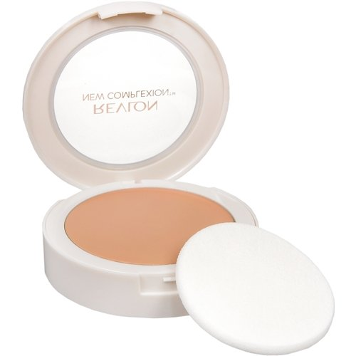 Revlon New Complexion One-Step Compact Makeup SPF 15, Natural Beige [004] 0.35 oz (Pack of 4)