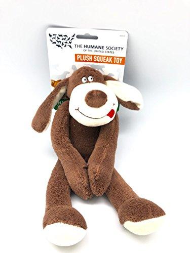 The Humane Society Plush Dog Squeaky Toy