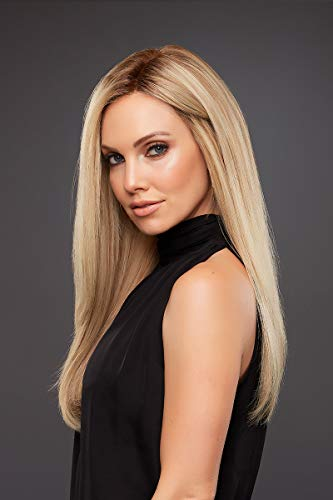 - Blake Wig Color 6RN - Jon Renau Wigs Women's Remy Human Hair Long Monofilament Top Smart Lace Front Natural Hairline