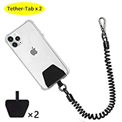 Phone Lanyard Tether with Patch, Doormoo...