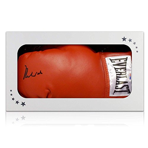 Muhammad Ali Unterzeichnung Boxhandschuh in Geschenk-Box (PSA DNA 4A54131)