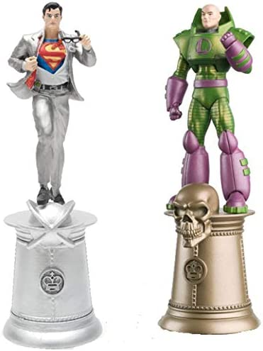 Amazon.com: DC Chess Figure Collection especial Superman y ...