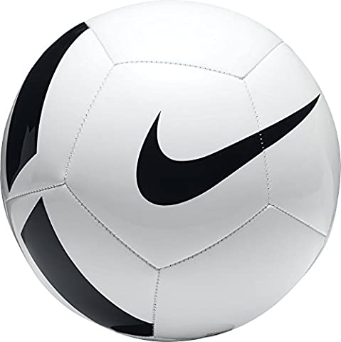 Nike Pitch Team Soccer Ball (White/Black) (Size 3)
