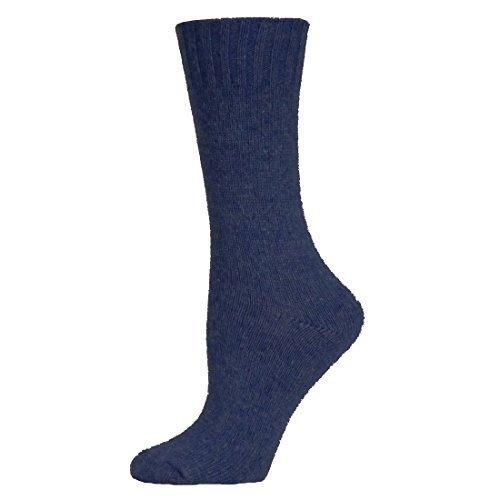 B.ella Women Este Cashmere Blend Jersey Crew Sock