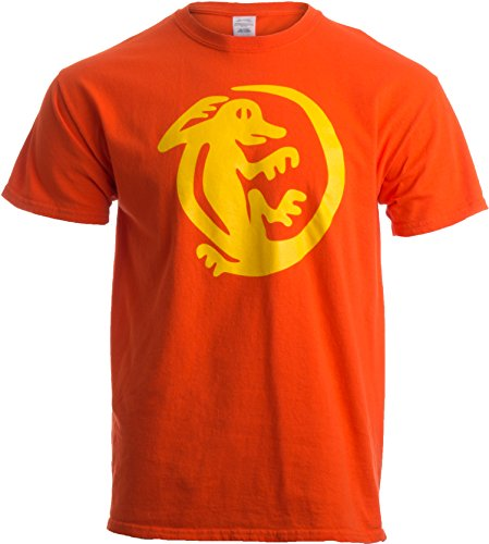 Legends of the Hidden Temple Tribute | 90s Halloween Team Costume Unisex T-shirt-L-Orange -