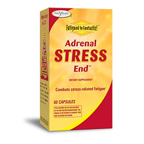 Enzymatic Therapy Fatigued To Fantastic Adrenal Stress End, 60 Capsules