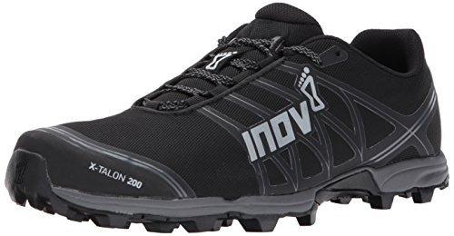 Inov-8 X-Talon 200 Unisex Sneaker, Black/Grey, M9.5 W11 E US