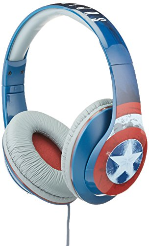 Captain Control (Avengers Captain America Vi-M40CA.FX Over Ear Headphones with V Built-in Microphone)
