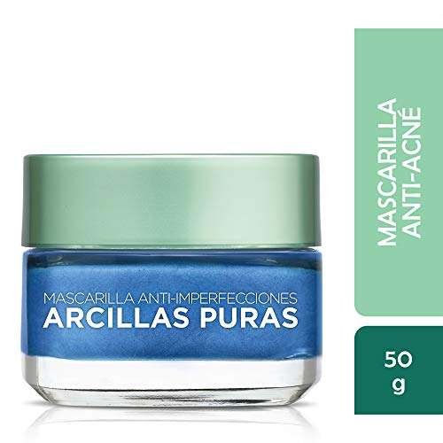 - L'Oréal Paris Skincare Pure-Clay Face Mask with Seaweed for Redness and Imperfections to Clear & Comfort, 1.7 oz.