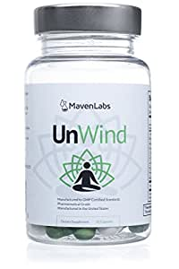 UnWind - All-Natural Non-Habit-Forming Sleep & Relaxation Support Supplement …