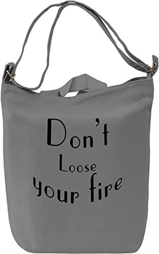 Your Fire Borsa Giornaliera Canvas Canvas Day Bag| 100% Premium Cotton Canvas| DTG Printing|