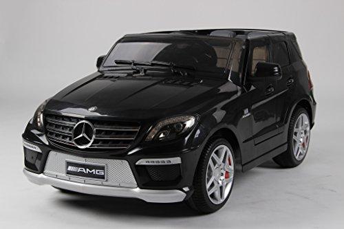 Mercedes Ml63 Amg (Evezo Mercedes-Benz ML63 AMG Ride on Car, Black,)