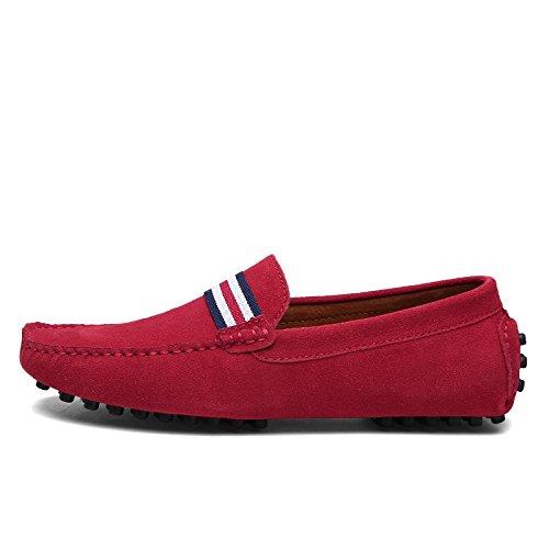 Stivali EU uomo rosso le Red 40 CFP con frange pTxdqqOR