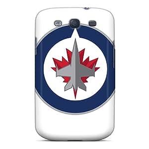 TrevorBahri Samsung Galaxy S3 Bumper Mobile Cases Provide Private Custom HD Winnipeg Jets Pattern [Zbu2444ornt]