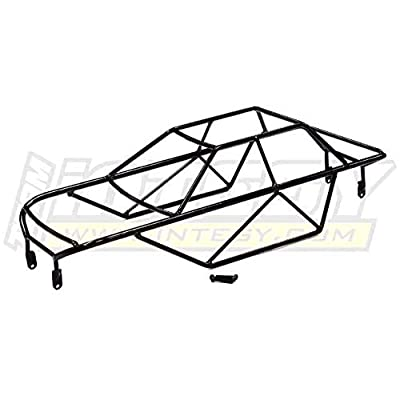 Integy RC Model Hop-ups T4062 Steel Roll Cage Body for Traxxas T-Maxx 2.5: Toys & Games