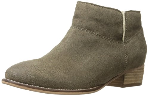 - Seychelles Women's Snare Cozy Shearling Suede Ankle Bootie, Taupe, 8.5 M US