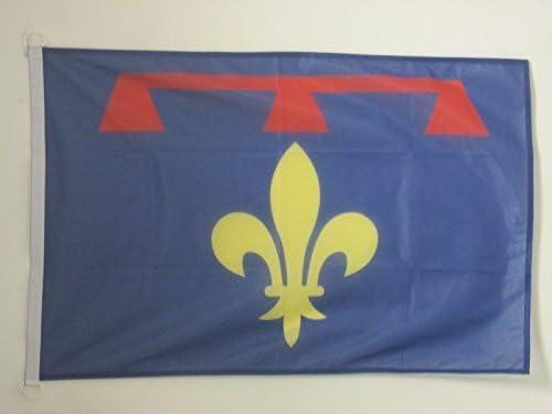 AZ FLAG Pavillon Nautique Provence Nouveau 45x30cm Drapeau de Bateau proven/çal 30 x 45 cm