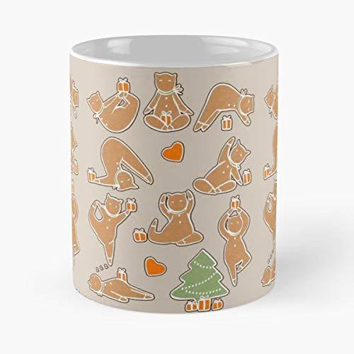 Cats Cat Yoga Female - Coffee Mug Tea Cup Gift 11oz Mugs The ...