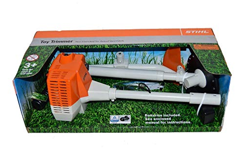 Kids Trimmer - Stihl Battery Operated Brushcutter Strimmer Children Kids Realistic Toy