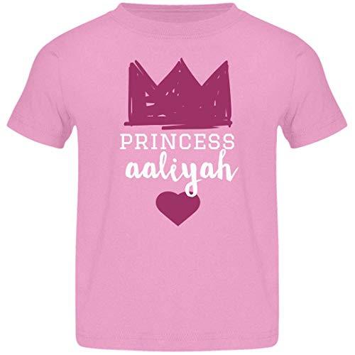 FUNNYSHIRTS.ORG Girls Princess Aaliyah Tee: Jersey Toddler T
