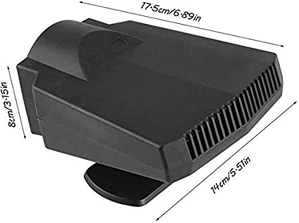 smzzz Car heater 12v fan Glass Defrost