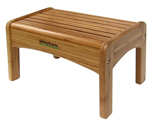 Footstool Bamboo - Growing Up Green Bamboo Step Stool