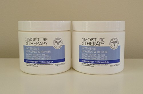 Avon Moisture - Avon Moisture Therapy Intensive and Repair Extra Strength Cream Lot 2 Jars 5.3 Oz.