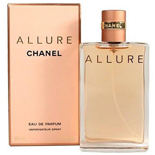Chânel Allure Eau De Parfum Spray for Woman. EDP 1.7 OZ / 50 ml ()