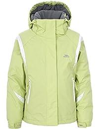 girls Trespass Girls Vanetta Waterproof Microfleece Lined Ski Jacket
