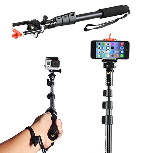 waatcher spark electronics self picture monopod selfie stick for cell phone wireless. Black Bedroom Furniture Sets. Home Design Ideas