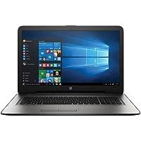 HP W2M98UA 17-X051NR Laptop PC - Intel Core i3-6100U 2.3 GHz Dual-Core Processor - 6 GB DDR3L SDRAM - 1 TB Hard Drive - 17.3-Inch Display - Windows 10 Home 64-Bit - Silver (Certified Refurbished)