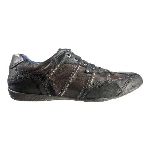 Lake Eagle 100192-90817 Herren Schuhe Premium Qualität Sneaker Schwarz (Schwarz)