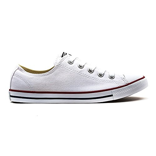 baskets mode converse chuck taylor all star dainty ox blanc 37