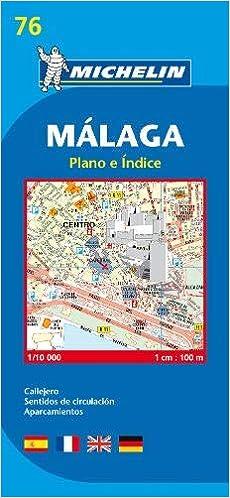 Malaga - Michelin City Plan: City Plans (Michelin City Plans ... on