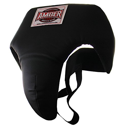 Amber Fight Gear Deluxe Boxing MMA Groin Abdominal Protector – Comfortable Ultimate Protection for Contact Sports…