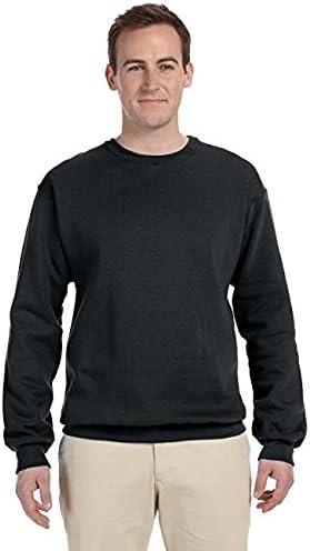 Jet Black/_S JERZEES 562M NuBlend Crewneck Sweatshirt