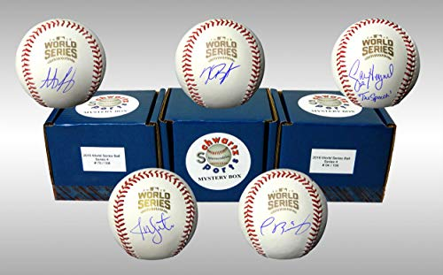 Chicago Cubs Signed Mystery Box 2016 World Series Baseball - 2016 World Champions Edition Series 4 (Limited to 108) ()