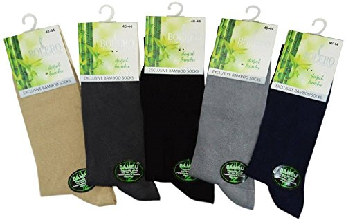 Bolero Soft Organic Bamboo Dress Socks Made From Luxurious Turkish Antibacterial Bamboo Yarn