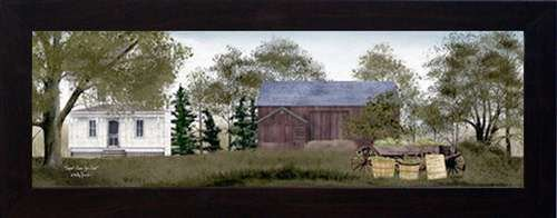 amazoncom sweet corn for sale by billy jacobs 14x34 framed country landscape print billy jacobs framed art posters prints
