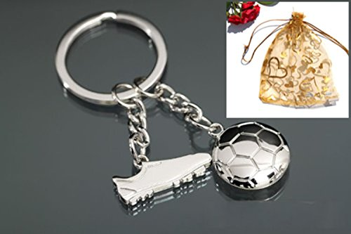 HityTech Football Boot Soccer Shoe Keychain Olympic Games Key Ring Sports Gift -