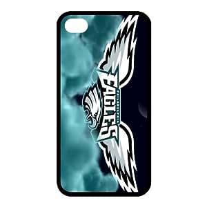 Custom Philadelphia Eagles NFL Series Back Cover Case for iphone 4,4S JN4S-1436
