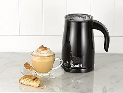 Dualit 84145 Negro espumador para leche - Espumador de leche (170 mm, 120 mm, 200 mm, 1 kg): Amazon.es: Hogar