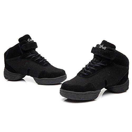 Shoes Jazz 3 Performance B52 Men Leather sneakers and B53 Modern Roymall Sports Black Boost Ballroom Dance Women's Sneaker Dance B51 Model 4gSgq86w