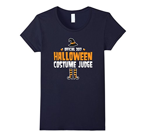 Womens The Official 2017 Halloween Costume Judge Holiday T-Shirt Medium (Womens Halloween Costumes 2017 Ideas)
