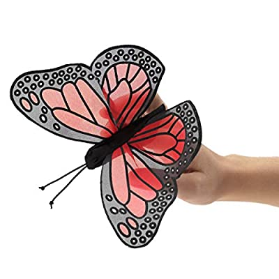 Folkmanis Mini Monarch Butterfly Finger Puppet: Toys & Games